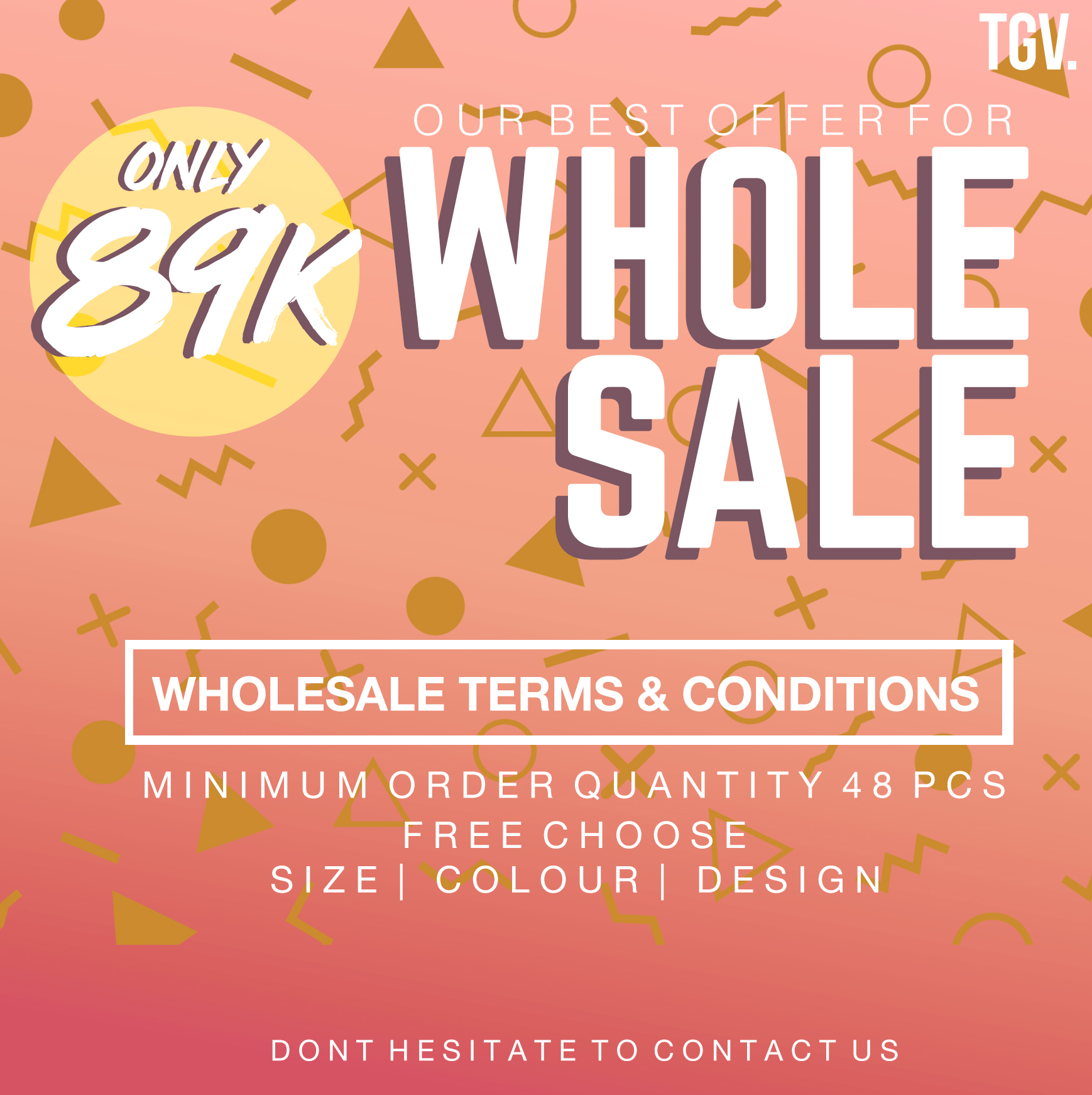 TGV WHOLESALE PACKAGE ULTIMATE